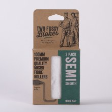 Two Fussy Blokes 10mm NAP Smooth Roller Sleeves 3 Pack