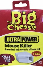 Big Cheese Ultra Power Mouse Killer 2 Pack