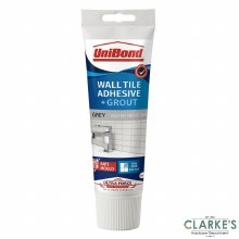 Unibond Ultraforce Wall & Tile Adhesive/Grout Grey 340g