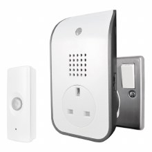 Uni-Com Premium Plug-Through Door Bell