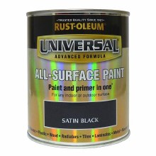 Universal Black Satin 750ml