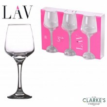 Urban Kitchen - Set of 3 Wine Glasses