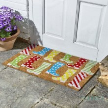 Wackey Wellies Decoir -  Door Mat 45x75cm