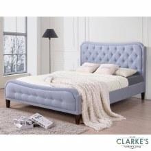 Vanessa blue bed frame