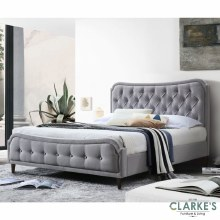 Vanessa grey bed frame