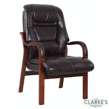 Vera Fireside Chair Burgundy