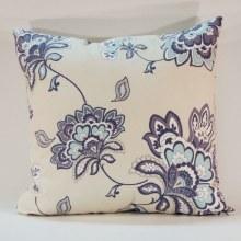 Vintage Denim Floral Blue