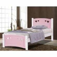Vogue Sweethart Bed Frame Pink