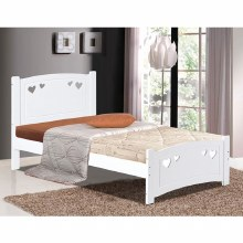 Vogue Sweetheart Bed Frame White
