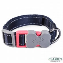 Walk About Jet Dog Collar L