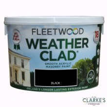 Fleetwood Weather Clad Black 10 Ltr
