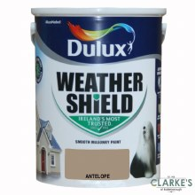 Dulux Weather Shield Antelope 5Ltr