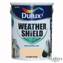 Dulux Weather Shield Autumn Stone 5Ltr
