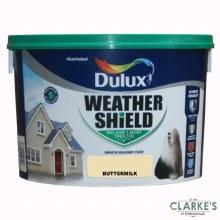 Dulux Weather Shield Buttermilk 10Ltr