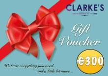 €300 Gift Voucher