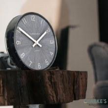 "Wharf clock 6.5"" limestone"