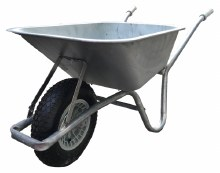 Galvanised 90 Litres Wheelbarrow