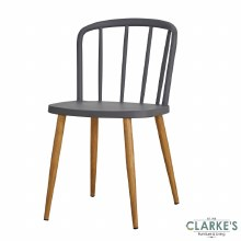 Willow grey dining chair