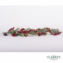 Winter Rustic Garland 120cm