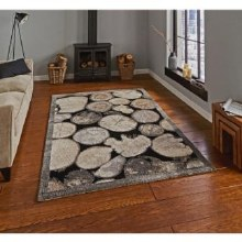 Woodland Rug 4626 Cream / Grey 120 x 170cm