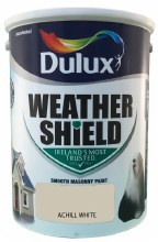 Dulux Weather Shield Achill White 5Ltr