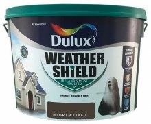 Dulux Weather Shield Bitter Chocolate 10Ltr