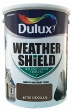 Dulux Weather Shield Bitter Chocolate 5Ltr