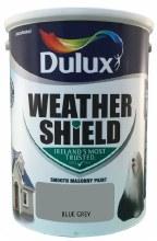 Dulux Weather Shield Blue Grey 5Ltr