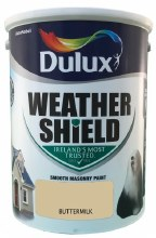 Dulux Weather Shield Buttermilk 5Ltr