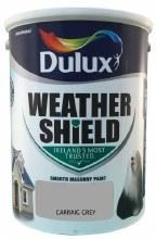 Dulux Weather Shield Carraig Grey 5Ltr