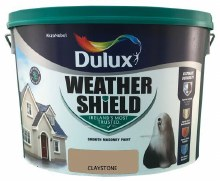 Dulux Weather Shield Claystone 10Ltr