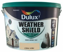Dulux Weather Shield Coral Ivory 10Ltr