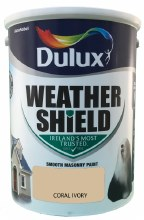 Dulux Weather Shield Coral Ivory 5Ltr