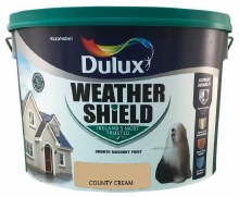 Dulux Weather Shield County Cream 10Ltr