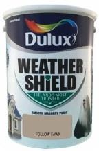 Dulux Weather Shield Follow Fawn 5Ltr