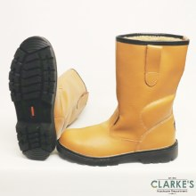WS Leather Rigger Safety Boots