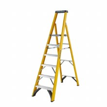 Youngman 6 Tread Fibreglass Platform Stepladder