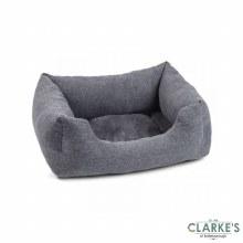 Harrogate Tweed Dog Bed Medium