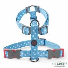 Walk About Starry Blue Dog Harness Medium