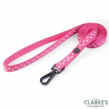 Walk About Starry Pink Dog Lead Standard