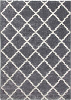 Lattice Rug Grey 66x240