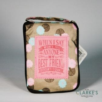 "Top Lass Tote Bag ""Best Friend"""