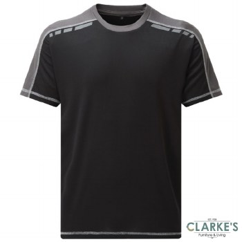 Tuff Stuff 151 Elite T-Shirt Black Size Small