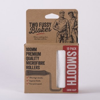 Two Fussy Blokes 5mm NAP Smooth Roller Sleeves 10 Pack