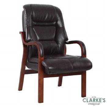 Vera Fireside Chair Burgundy
