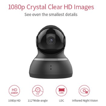 YI Dome Home Security/Surveillance Camera 1080p