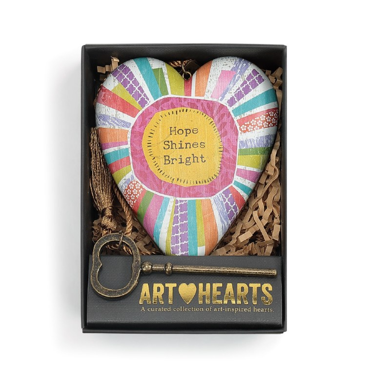 Art Heart Hope Shines Bright