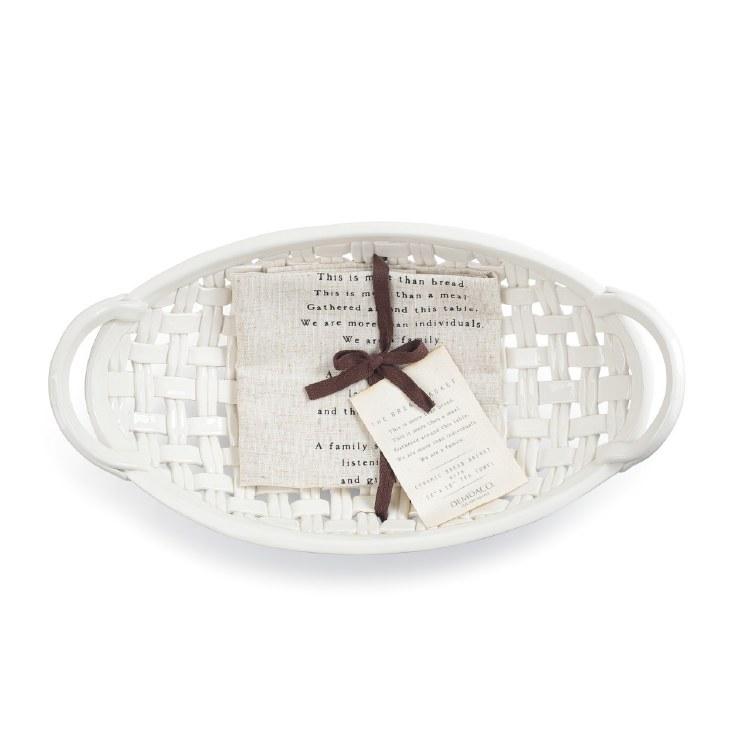 Bread Basket w Tea Towel