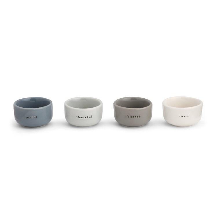 Pinch Bowls Set (4)