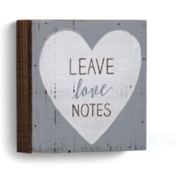 Leave Love Notes Wall Art
